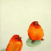Saffron Finches Popup