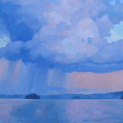 Lavender Lake Storm