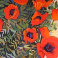 Susanne Strater - Poppies Growing