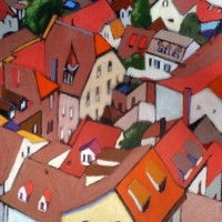 Red Rooftops (Heidelberg)