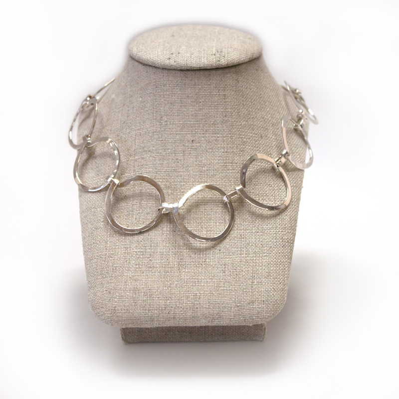 Ann Kearney - NE 365 Small Circle Necklace