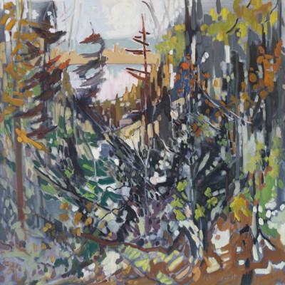 Donna Andreychuk - Tamarack at the Lake