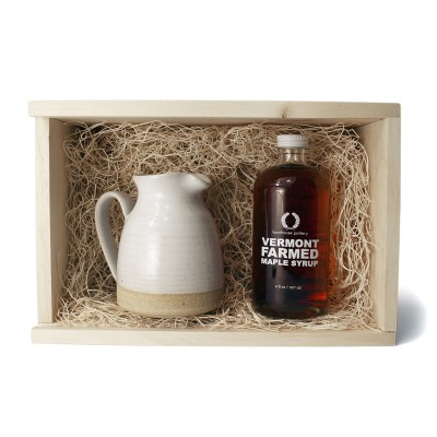 Farmhouse Pottery - Maple Syrup & Small Bell Pitcher Set
