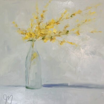 Jill Matthews - Last of the Forsythia