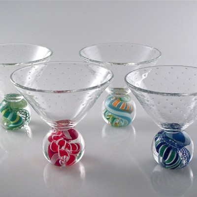 Michael Egan - Marbletinis, set of 2