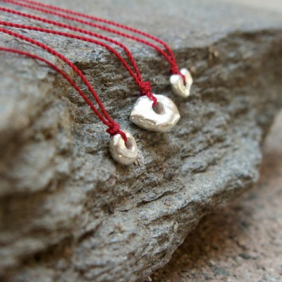 Margaret Solow - Wabi Sabi Necklace, Silver