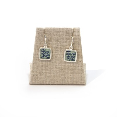 Susan Fleming - Square Drop Earring