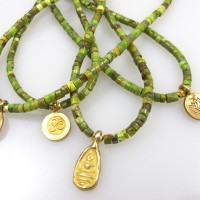 Green Heshi necklace
