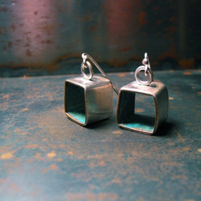 Square #6 Earrings