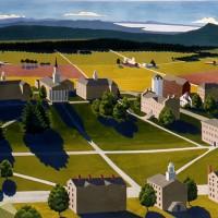 Middlebury College Bicentennial View II