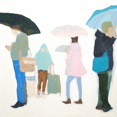 Spring Rain Study 1