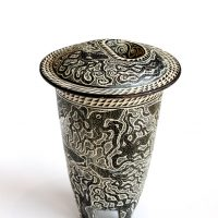 Lidded Octo Canister