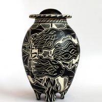 Squid Lidded Vase