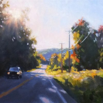 Early Autumn Road