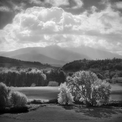 Lamoille River Valley and Mt. Mansfield