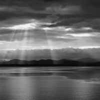 Light Beams, Lake Champlain