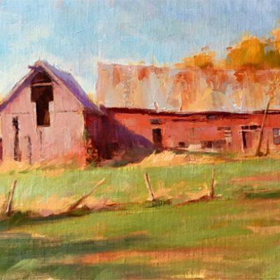 Cornwall Barn Early Autumn