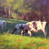 Cows Grazing #1