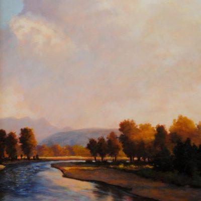 Bruce Park - Gallatin River Sunset