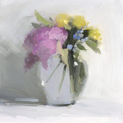 Lilacs, Forget Me Nots & Primrose