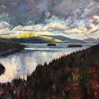 Sky Over Lac Tremblant