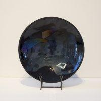 Black Iridescent Bowl