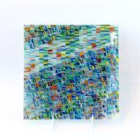 Blue Celadon Square Plate