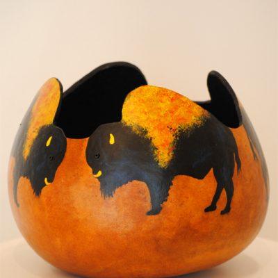 Bison Gourd