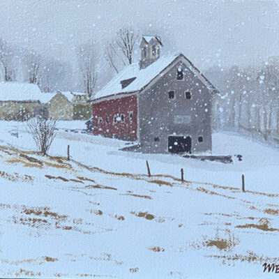 Farm in Snow I