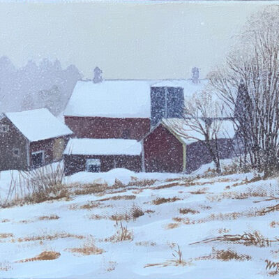 Farm in Snow II