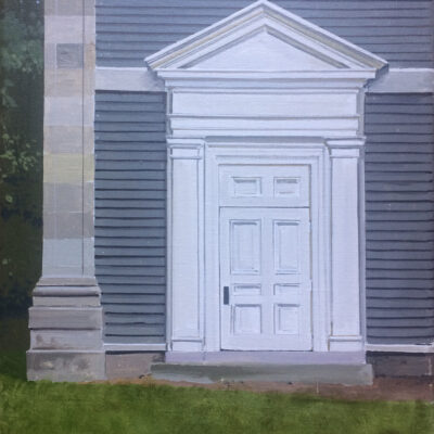 William Hoyt - Back Door to Mead Chapel
