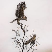 Two Owls in a Tree