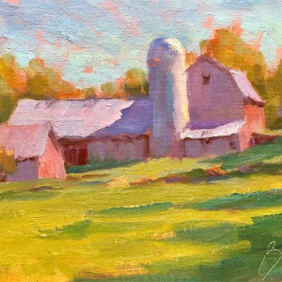 Late Afternoon Barn