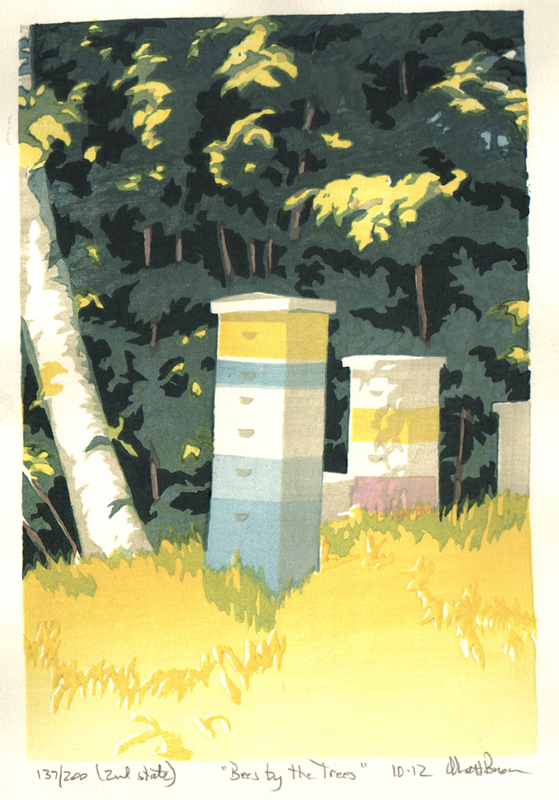 Bees by the Trees, 2nd state