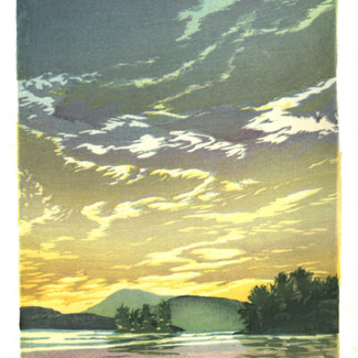 Evening on Lake Winnipe