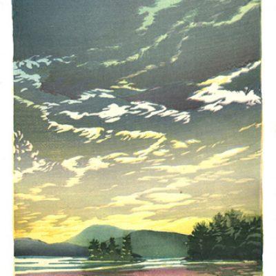 Evening on Lake Winnipesaukee
