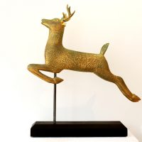 Leaping Deer