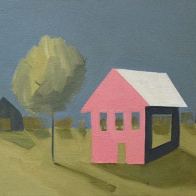 House, a Tree and Two Shacks