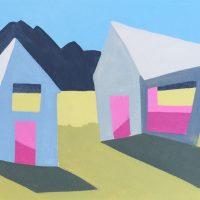 Two Contrasting Barns