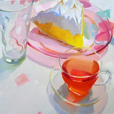 Lemon Pie and Tea
