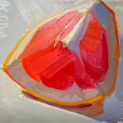 Red Grapefruit Series #1