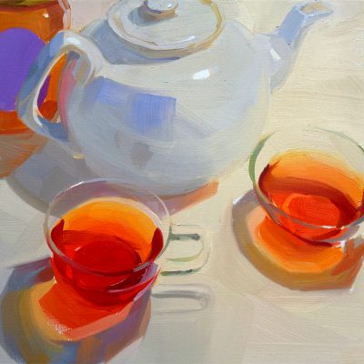 Tea with Russell's Honey