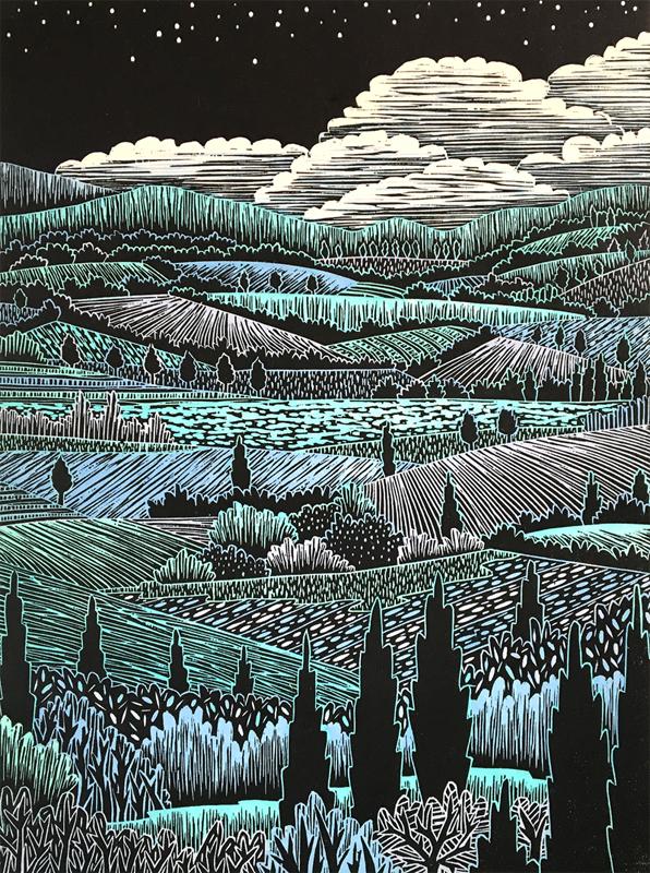 Italian Landscape II