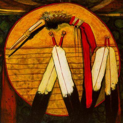 Crane War Shield