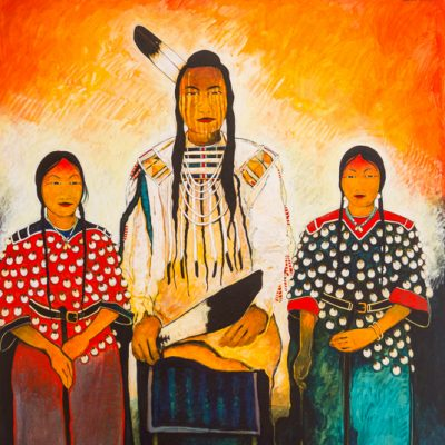 Crow Indian & Women