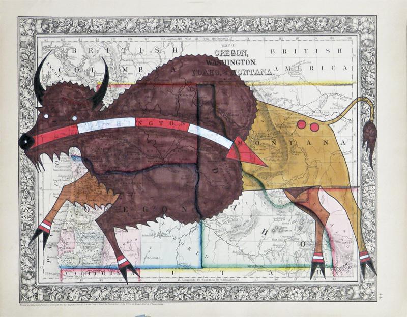 Piikani Buffalo Design