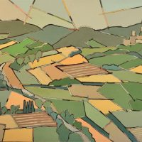 Gregory Gorman - Road to a Tuscan Hilltop Town