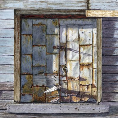 Circa 1880 - Hay Barn Door