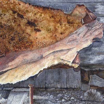 Circa 1880 - Hay Barn Door - Detail #4