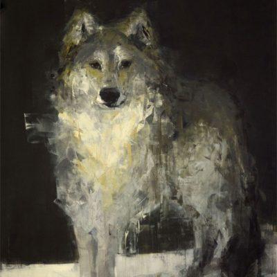 Gray Wolf (Watching)